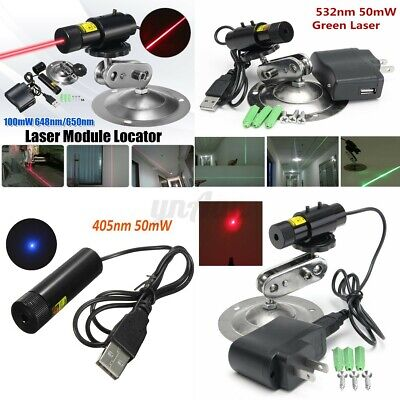 648nm 650nm Focusable 100mw Red Laser Line Module Locator Cutter
