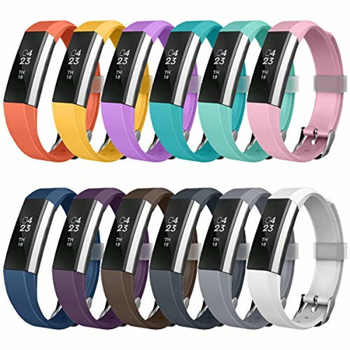No Tracker Tobfit Fitbit Alta Band Alta HR Bracelet Replacement en TPU Confortable R/églable Sport Bracelet Accessorie pour Fitbit Alta et Alta HR
