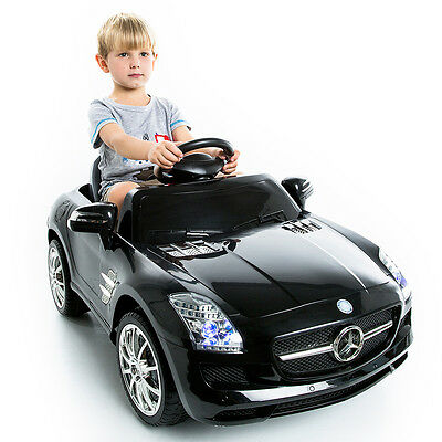 MERCEDES BENZ SLS AMG KIDS RIDE ON CAR 6V ELECTRIC CHILDREN REMOTE CONTROL MP3