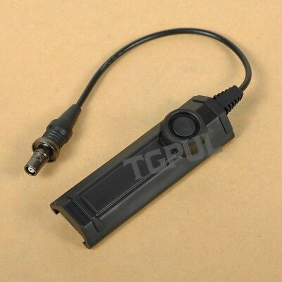 Weapon Light Dual Tail Switch Remote Switch for M300 M600 M951 M952 Series Light