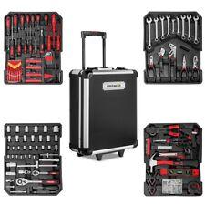 Maleta herramientas 819 piezas acero trolley aluminio con ruedas -GREENCUT