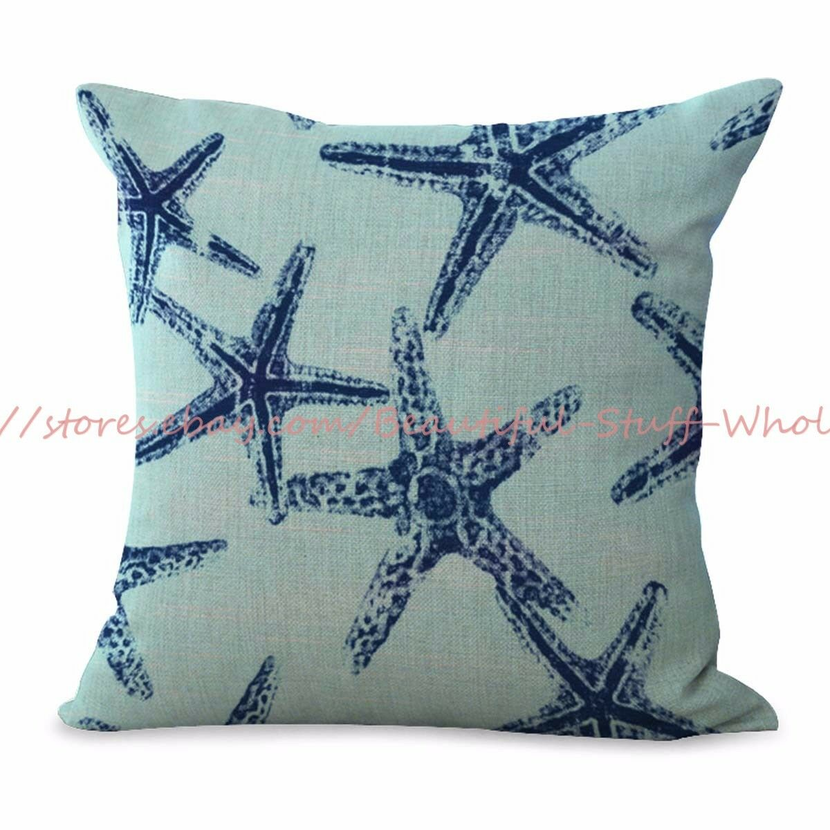 US SELLER-decorative throw pillows for couch sailor beach st