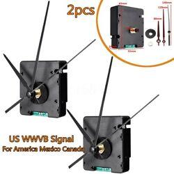 Pair Atomic WWVB Signal Radio Control Clock Self Setting America Mexico Canada