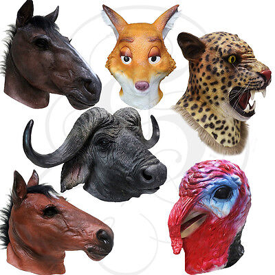 Best Selling Latex Animal Head Mask for Prop Theater Halloween School Mannequin