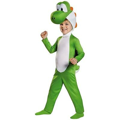 Yoshi Costume Mario Brothers Halloween Fancy Dress