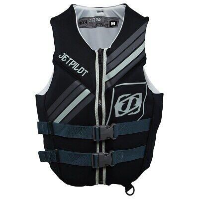 JETPILOT Scout Neoprene Life Vest Jacket PFD Ultra-Soft USCG ORANGE GRAY JP17246