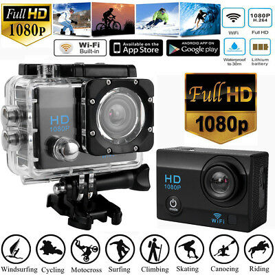 Best Sport Camcorder DV Action Camera HD 1080P 5V/1A Anti-Water Wide Angle