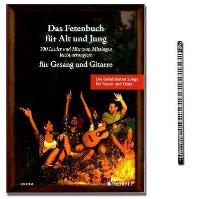 Das Fetenbuch für Alt und Jung - mit MusikBleistift - ED22355 - 9783795744588