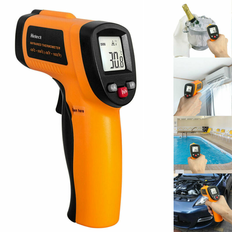 Infrared Thermometer Non-contact Digital Laser Infrared Temperature Gun US