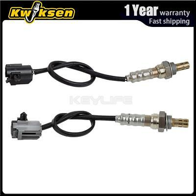 2pcs Upstream+Downstream Oxygen O2 Sensor 1 2 For 2000-2001Jeep Cherokee 4.0L