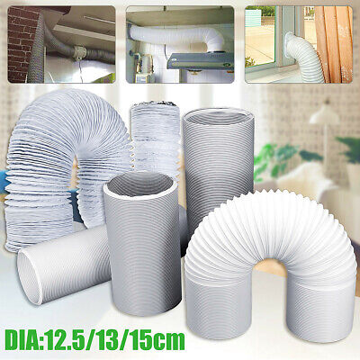1.5M/2M/3M/5M/6M Flexible Exhaust Hose Tube Vent For Portable Air Conditioner
