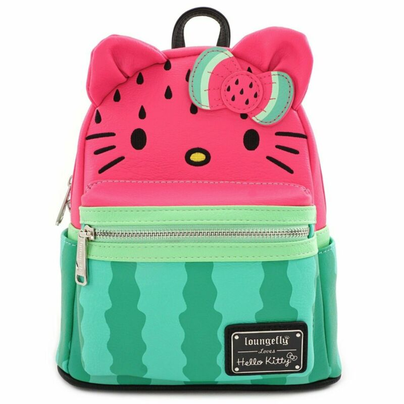 Loungefly Sanrio - Hello Kitty - Watermelon Fruit Mini Backpack