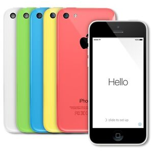 Apple iPhone 5C 16GB GSM Unlocked Smartphone a1532 AT&T T-Mobile