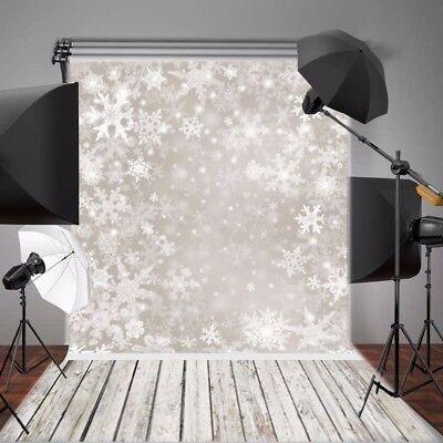 Fotostudio Hintergrundstoff Foto Hintergrund 1.5mx2.1m Schneeflocke Bling