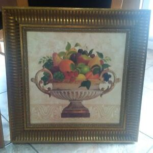 2' X 3' Picture of Fruit.