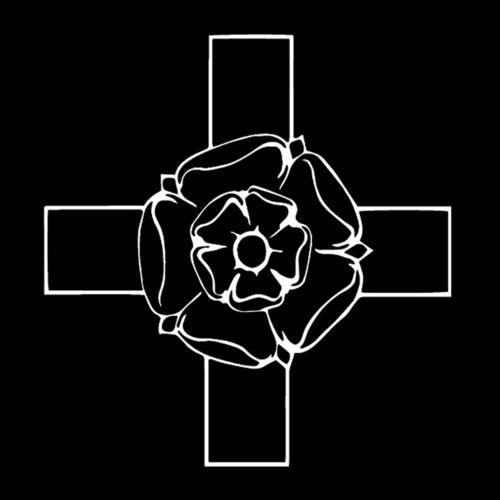 18th Degree Masonic Vinyl Decal - White 6 Inch