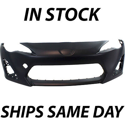 NEW Primered - Front Bumper Cover Fascia For 2013 2014 2015 2016 Scion FR-S FRS