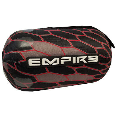 Empire Bottle Glove Tank Cover - F9 - Black / Red - 80 / 90 ci Bottle Glove Tank Cover