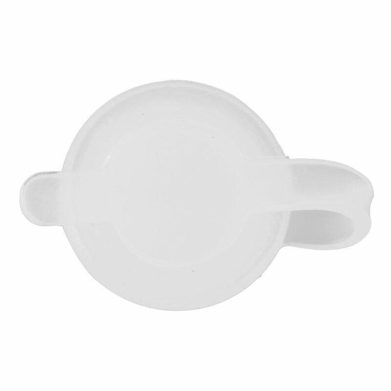 Silicone étanche paille TROU ŒILLETS avec Joint Bouchons pour Mason Jar Couvercle De Métal