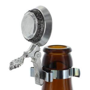 Zinndeckel für Flaschen Bierflaschen Wein Verschluß inkl. Gravur Flaschendeckel
