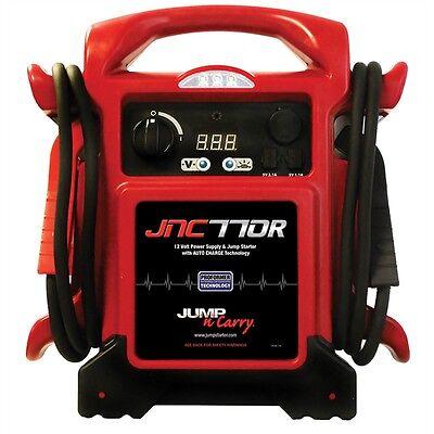 JNC770R JNC770 Heavy Duty 12 Volt Jump Starter Booster Pack and Power Supply Heavy Duty Jump Starter