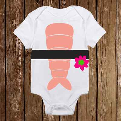 Baby Halloween Costume Onesie Sushi Roll Funny unisex baby clothes - Shower - Sushi Halloween Costume Baby