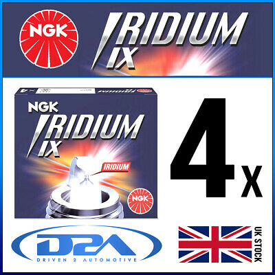 4x NGK BKR8EIX (2668) Iridium IX Spark Plug *Wholesale Price SALE*