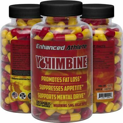 Enhanced Athlete Yohimbine HCL - Weight Loss Support and Improved Athletic