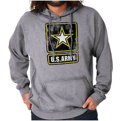 Armed Forces Officially Licensed US Army Logo Hoodies Sweat