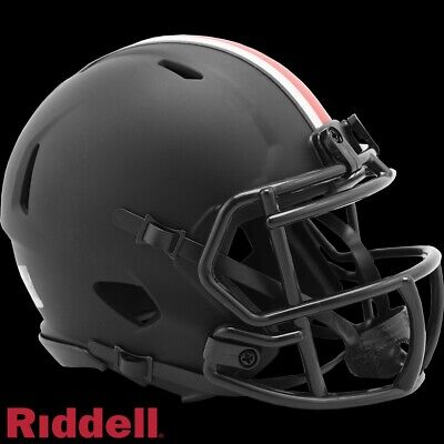 Ohio State Buckeyes Alt Eclipse Riddell Speed Mini Helmet - New in Riddell Box