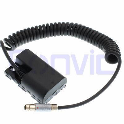 ARRI Camera RS Power SmallHD Monitor LP-E6 Fischer 3 Pin Dummy Battery...