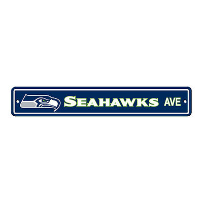 - New NFL Seattle Seahawks Home Decor AVE Street Sign 24
