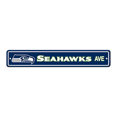 New NFL Seattle Seahawks Home Decor AVE Street Sign 24