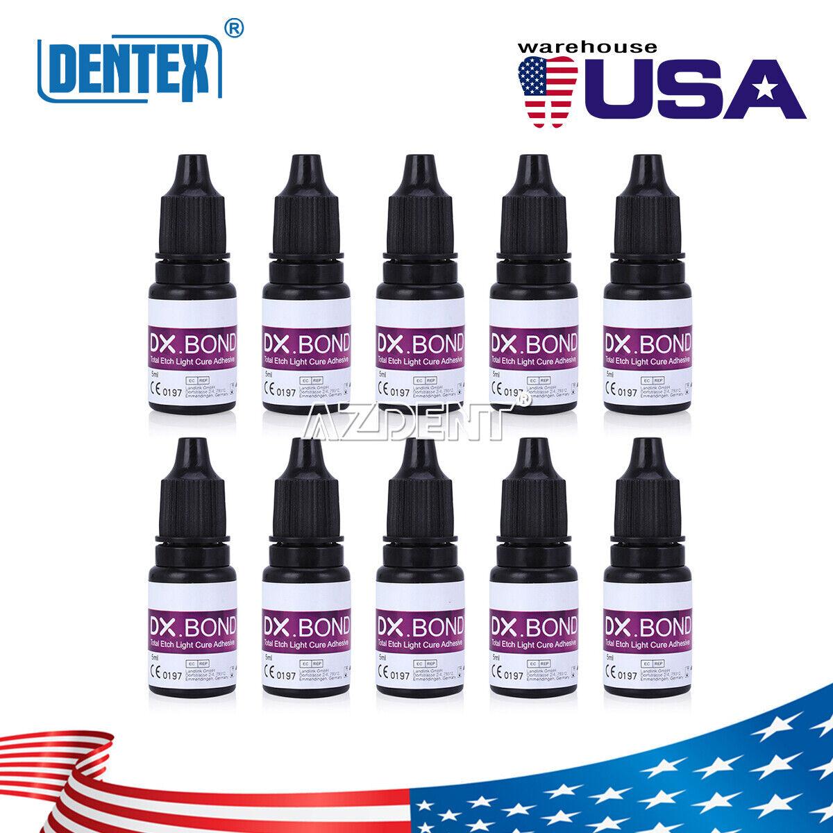DX.BOND V Dental Light Cure One Step Dentin Enamel Resin Bonding Adhesive 5ml - $14.29