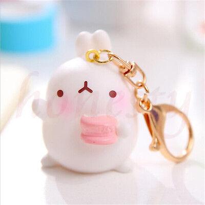 1x Kaninchen Molang Schlüsselanhänger Handtasche Handtasche*