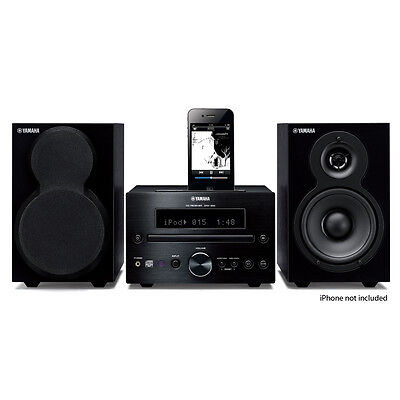 Yamaha Shelf STEREO SYSTEM with CD USB Radio & iPod Dock for sale  Shipping to India