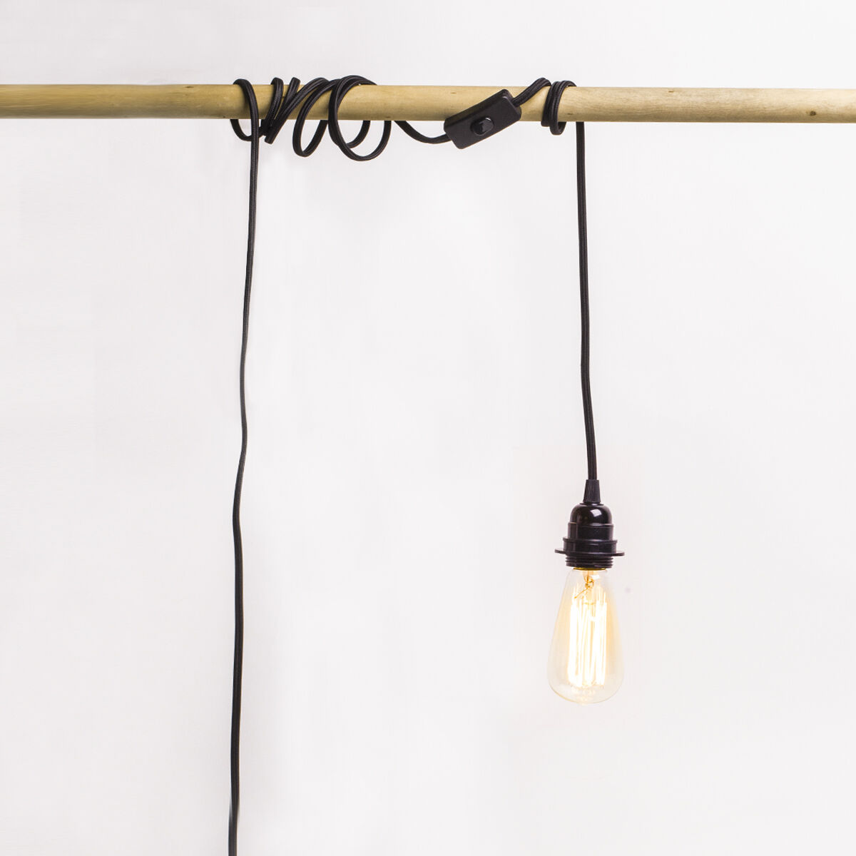 5m plug in hanging lantern cord pendant light edison bulb lamp. Black Bedroom Furniture Sets. Home Design Ideas