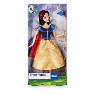 "NEW Disney Store Classic Princess Snow White Classic Doll 11 1/2"" NIB"