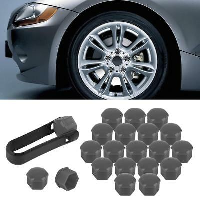 20pcs 321601173A Grey Wheel Lug Bolt Nut Caps Covers For Volkswagen VW