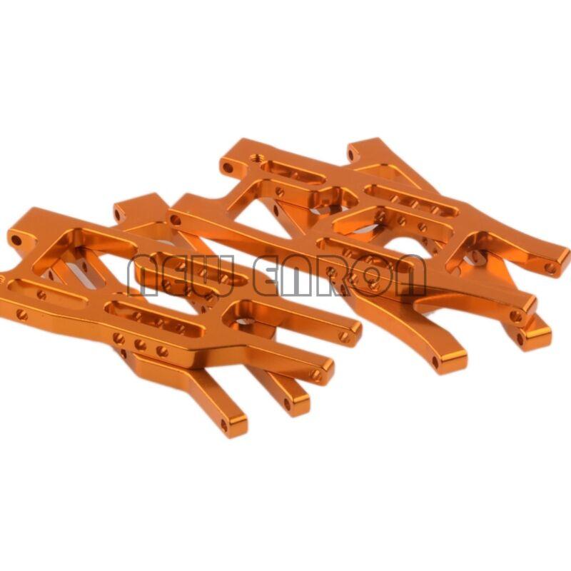GOLD Aluminum Front&Rear Lower Suspension Arm Set HPI 1:10 Bullet 3.0 ST/MT