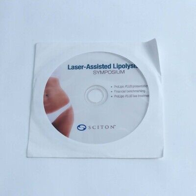 2010 Sciton Prolipo Laser Assisted Lipolysis Symposium Clinical Cd 2600-043-03