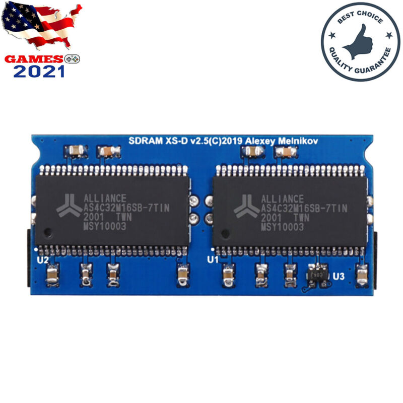 Mister SDRAM Extra Slim XSD v2.5 SD Board 128MB for Mister FPGA