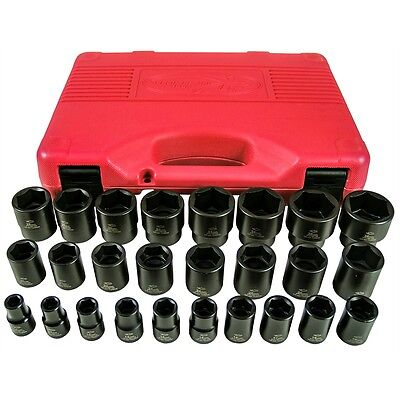 6 Point Complete Socket Tool - K Tool 38101 26 Piece 1/2