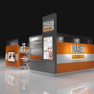 WAXED express beauty Kiosk! New location in Vaughan Mall!