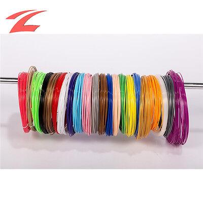 21 Farbe PLA Printer Filament 1,75mm Jede 5M 3D Drucker 3D Pen 3D Stift Zubehör