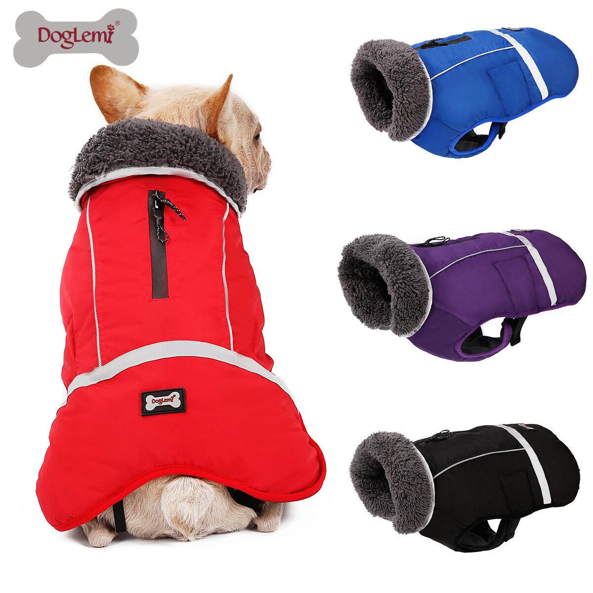 Dog Clothes Winter Waterproof Pet Dog Coat Jacket Fashion Vest Small Large Dog 1