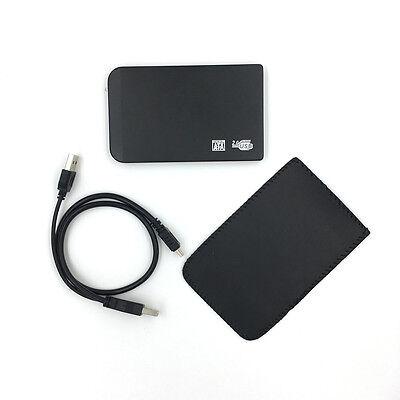 "New 120GB External Portable 2.5"" USB Hard Drive HDD With Warranty Black"