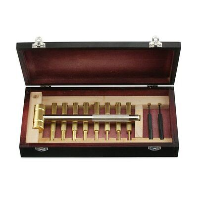 Apt Tj2100w 11pc Brass Hammer & Brass/steel Punch Tool Se...
