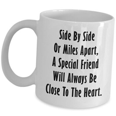 Long Distance Friendship Gift For Best Friend Coffee Mug Her Him Cute Cup