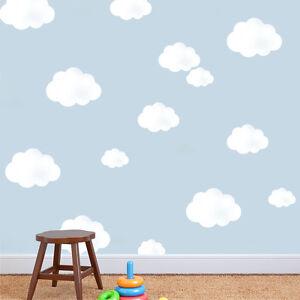 cloud sky stencil nursery wall home decor art craft painting ideal stencils ebay. Black Bedroom Furniture Sets. Home Design Ideas